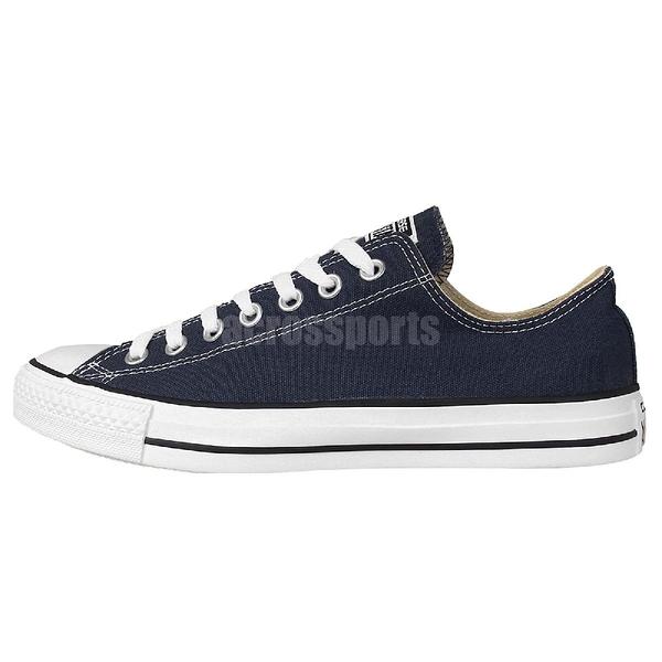 Converse Chuck Taylor All Star 深藍 白 帆布鞋 基本款 男鞋 女鞋【ACS】 M9697C