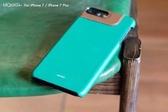 【默肯國際】Mokka iPhone 7 / 7 plus 復古油蠟撞色拼接保護殼 手機殼 防摔 背蓋