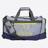 Adidas- Defender中型行李袋(灰色/深藍色)