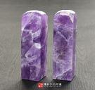 促銷區巴西天然紫水晶臍帶肚臍印章《全手工噴砂》六分,正常高度,單章。簡配。傳家手工印章
