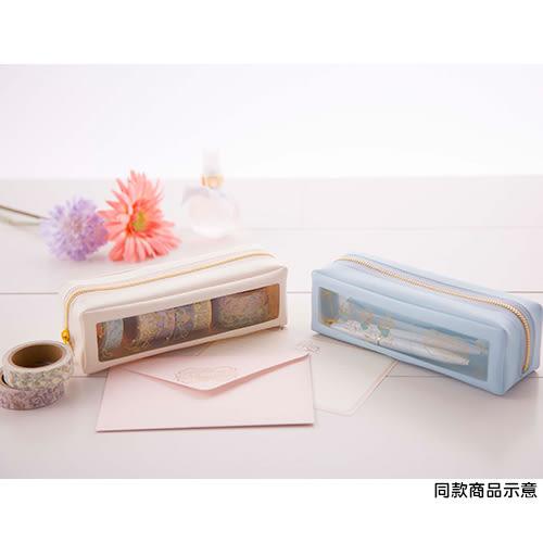 《sun-star》迪士尼法式小可愛系列PVC開窗長方筆袋(克莉絲Clarice)★funbox生活用品★_UA48849