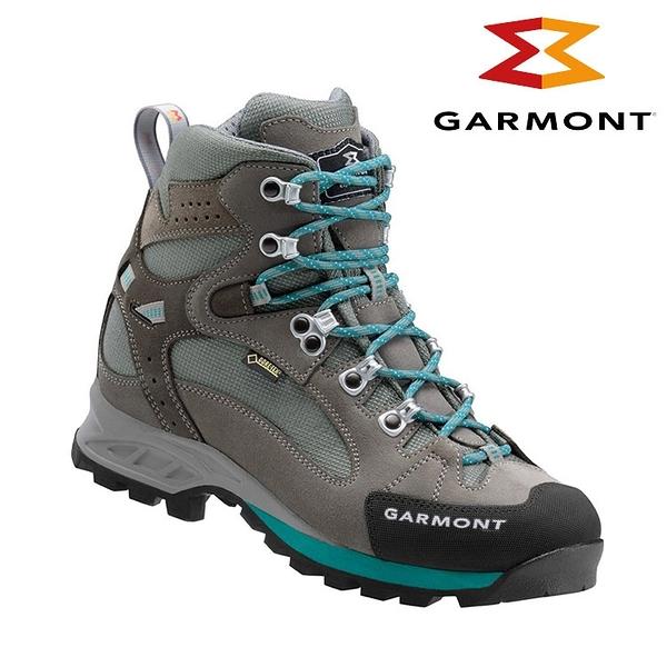 【下殺↘4590】GARMONT 女款 Gore-Tex大背包健行鞋Rambler GTX WMS 441113/618 暖灰藍 / 城市綠洲