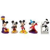 Disney 迪士尼 米奇90週年 3吋公仔五入組 【鯊玩具Toy Shark】