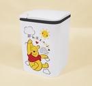 【震撼精品百貨】小熊維尼_Winnie the Pooh~台灣授權迪士尼 DISNEY 小熊維尼按壓式垃圾桶-白#19338