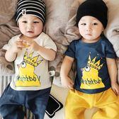 【熊貓】寶寶t恤短袖男0—1歲新生兒上衣卡通T恤