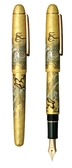 白金牌Paltinum-昇龍箔金14K鋼筆-PNB-30000H-3776