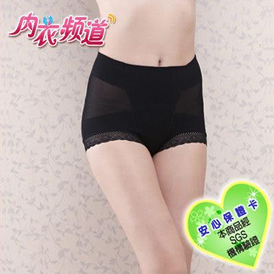 內衣頻道♥7909 台灣製 輕機能 透氣薄款 提臀塑腰 中腰 束褲- M/L/XL/Q- 膚色 黑色