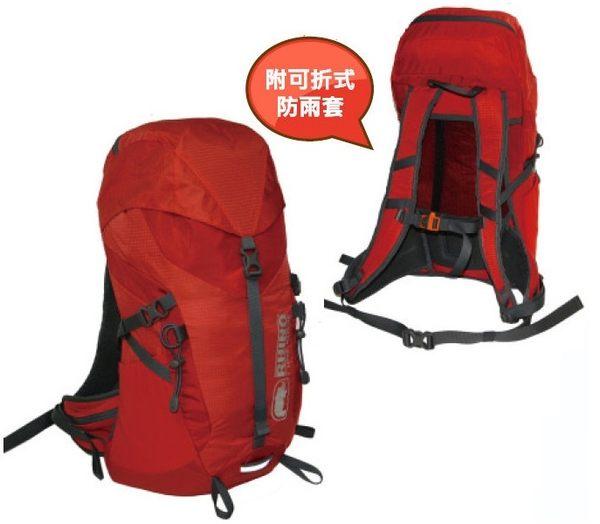 Rhino 犀牛 台灣 Airflux 22公升透氣網架背包 紅色 R022/雙肩背包 後背包 隨身背包 旅行背包