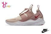 NIKE WMNS FREE RN CMTR 2018 慢跑鞋 女款 襪套式運動鞋O7210#粉紅◆OSOME奧森童鞋