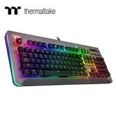 【綠蔭-免運】曜越 Level 20 RGB Cherry MX 機械式銀軸電競鍵盤鈦灰特仕版
