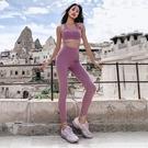 運動褲(長褲)-翹臀高腰彈力瑜珈女褲子3色73ul19【時尚巴黎】