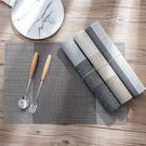隔熱墊-簡約拚色PVC餐桌墊 隔熱墊 餐桌墊 防滑墊【AN SHOP】