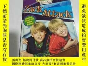 二手書博民逛書店Zack罕見Attack:扎克攻擊(外文)書內開裂Y212829