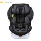 【預購8月中到貨】Osann Swift360 Plus 0-12歲360度旋轉多功能汽車座椅-銀河灰(isofix/安全帶 兩用)