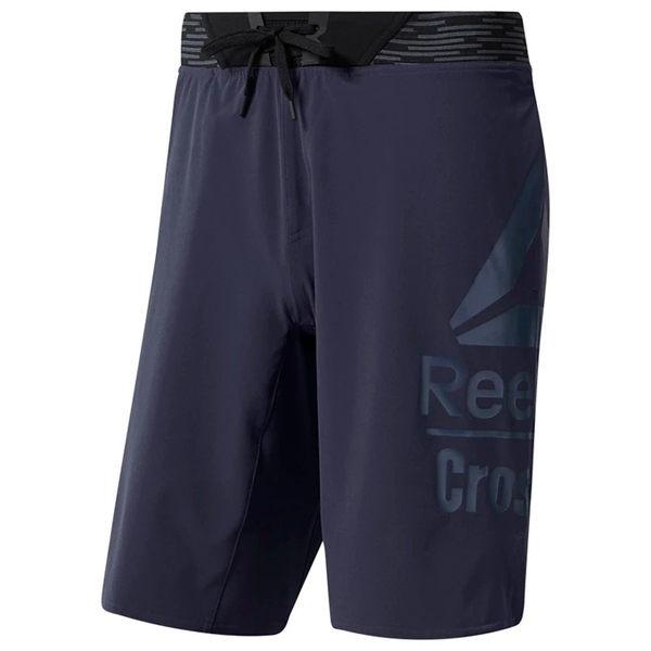 REEBOK CROSSFIT® GAMES EPIC BASE SHORTS 男裝 短褲 休閒 訓練 梭織 乾爽 舒適 紫【運動世界】DY8462