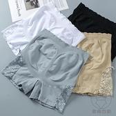 3條裝 蕾絲安全褲防走光女純棉外穿打底褲薄款高腰收腹提臀大碼短褲【貼身日記】