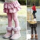 *╮小衣衫S13╭*春秋款女童甜美俏麗韓版蛋糕裙長褲1091212