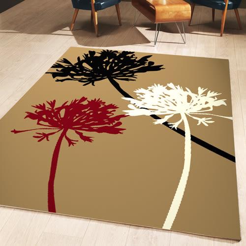 范登伯格 維多利亞 低調時尚地毯-花朵-140x200cm