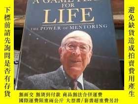 二手書博民逛書店A罕見Game Plan for Life: The Power of MentoringY203750 By