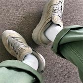 5雙男士長筒襪黑色白色純棉百搭學院風韓版港風純色長襪運動吸汗 【快速出貨】
