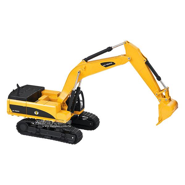 HY TRUCK華一 5012-2挖掘機 工程合金車模型車 怪手 挖土機(1:50)【楚崴玩具】