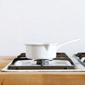 【奧地利RIESS】純白系列琺瑯單柄醬料鍋14cm / 0.75L