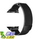錶帶 OROBAY Compatible with Apple Watch Band 42mm 44mm, Stainless Steel Milanese B0798GNZPV