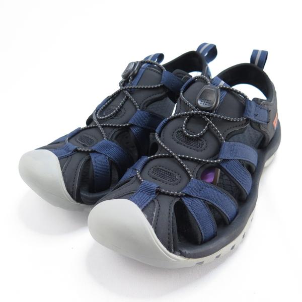 LOTTO 冒險者運動涼鞋 男款 LT0AMS1926 深藍 壓扣式鬆緊鞋帶【iSport愛運動】