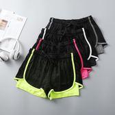 運動健身服 夏季瑜伽服防走光短褲跑步健身房運動服速干衣