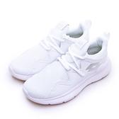 LIKA夢 LOTTO 輕量微厚底襪套式慢跑鞋 DAY RIDE系列 白色學生鞋 白銀 0709 女