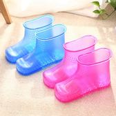 高筒泡腳桶足浴桶足浴盆塑料洗腳盆家用足浴鞋泡腳鞋220VATF 格蘭小舖