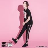 STAYREAL x Pink Panther 粉紅豹織帶棉褲
