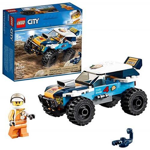 LEGO 樂高 City Great Vehicles Desert Rally Racer 60218 Building Kit (75 Piece)