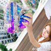 擦玻璃神器家用雙面高樓高層雙層三層厚搽窗戶器中空強磁清潔清洗  (橙子精品)