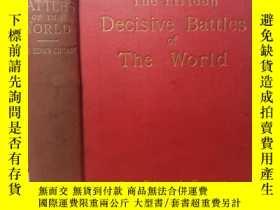 二手書博民逛書店1894年罕見THE FIFTEEN DECISIVE BATT