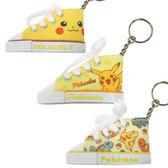 寶可夢 帆布鞋鑰匙圈  皮卡丘 pokemon 神奇寶貝 日本正版 該該貝比日本精品 ☆