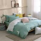 鴻宇 雙人特大兩用被套床包組 100%精梳純棉 鹿跑了 台灣製C20109