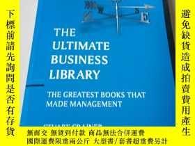 二手書博民逛書店The罕見Ultimate Business Library: