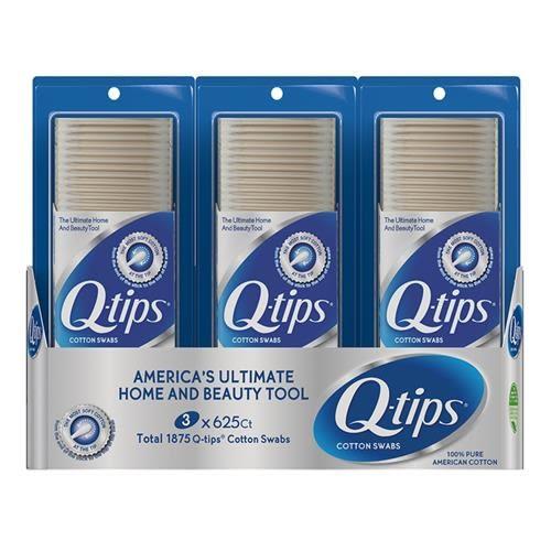 Q-Tips 紙軸棉花棒 625支 3入/組