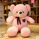 玩偶毛絨玩具熊公仔狗熊玩偶女生日禮物可愛布娃娃大泰迪熊貓睡覺抱枕JD 玩趣3C