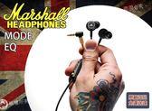 【小麥老師 樂器館】免運優惠 英國大廠 Marshall Mode EQ 耳塞式耳機 可線控 耳道式 耳機 原廠公司貨