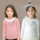 小女童蕾絲領 長袖棉T *2色[K738...