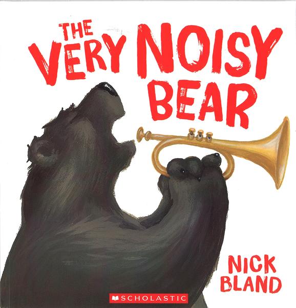 【麥克書店】THE VERY NOISY BEAR /書+CD 《主題: 幽默.友誼》