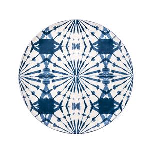 渲染藍韻平盤26cm 蒲公英