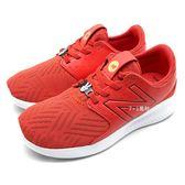 《7+1童鞋》中大童 NEW BALANCE DISNEY 米奇聯名款 慢跑鞋  運動鞋 9412  紅色