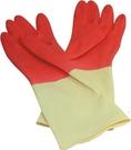 【奇奇文具】康乃馨 家庭用雙色手套/塑膠手套/清潔手套 (M號/L號)