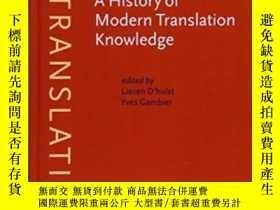 二手書博民逛書店A罕見History Of Modern Translation