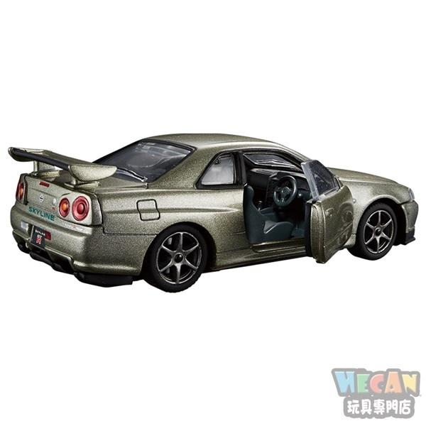TOMICA多美小汽車黑盒 PREMIUM RS 日產SKYLINE GT-R V. SEPCII NUR 14128