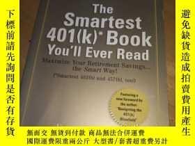 二手書博民逛書店THE罕見SMARTEST 401(K)* BOOK(32開品好