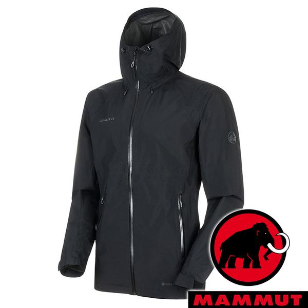【MAMMUT 長毛象】男 Convey Tour 單件式GT外套『黑』1010-26032 戶外 露營 登山 外套 防風 保暖 禦寒